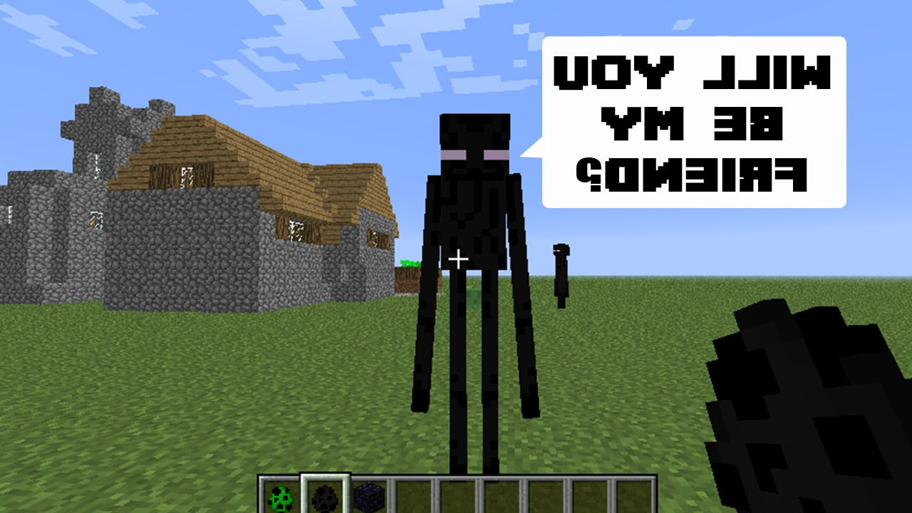 Enderman just wants to be friends