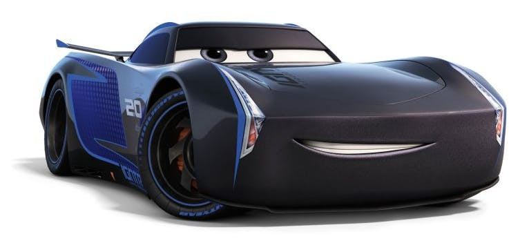 [name deleted] from Cars 3