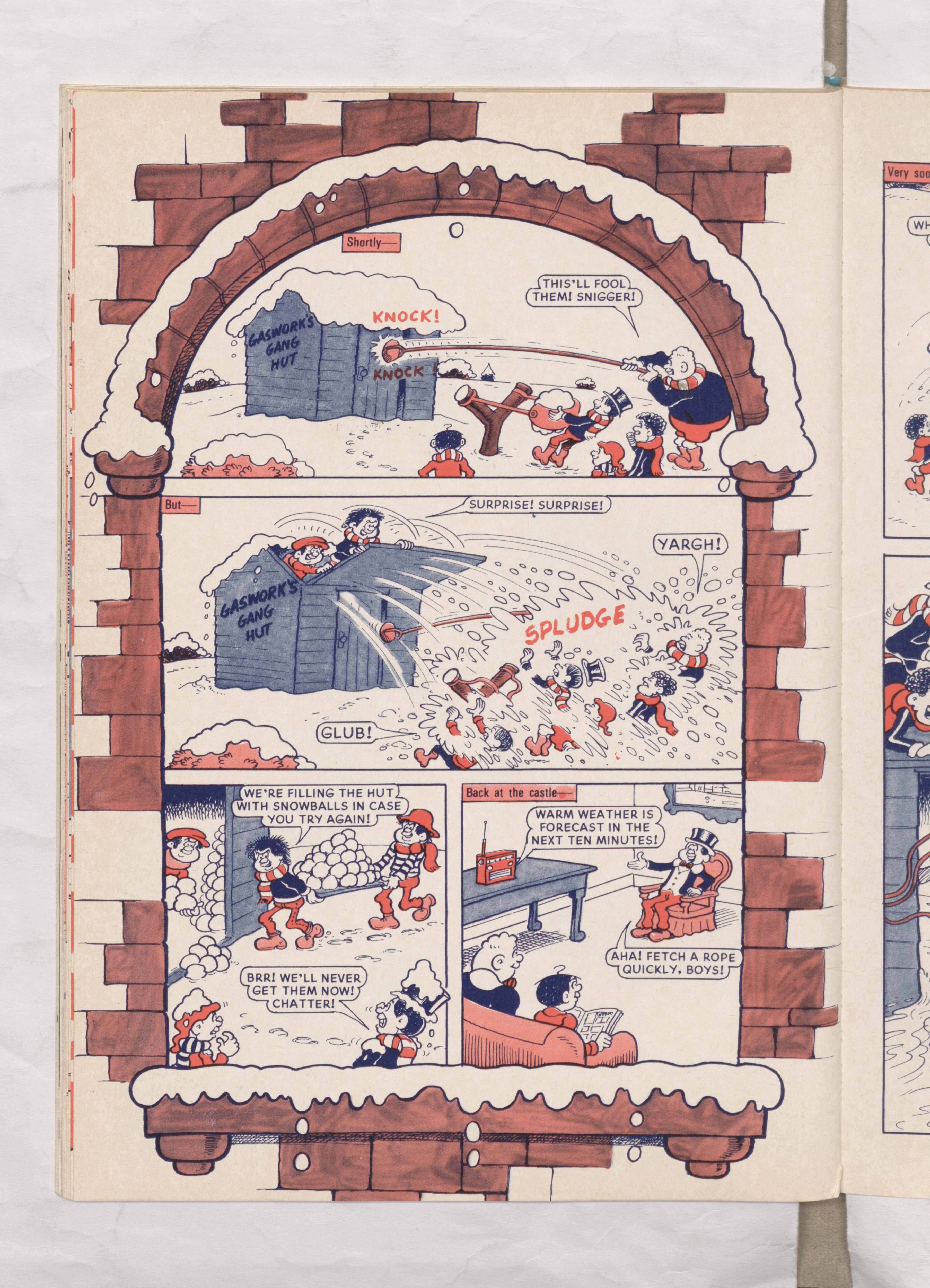 Beano Book 1978 Annual - Lord Snooty's Snowman - Page 3