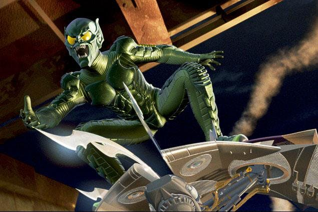 The green villain from Spider-man