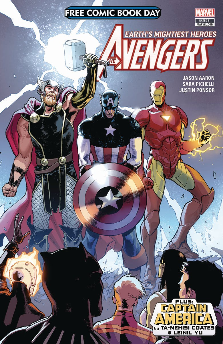 Avengers Free Comic Day Cover