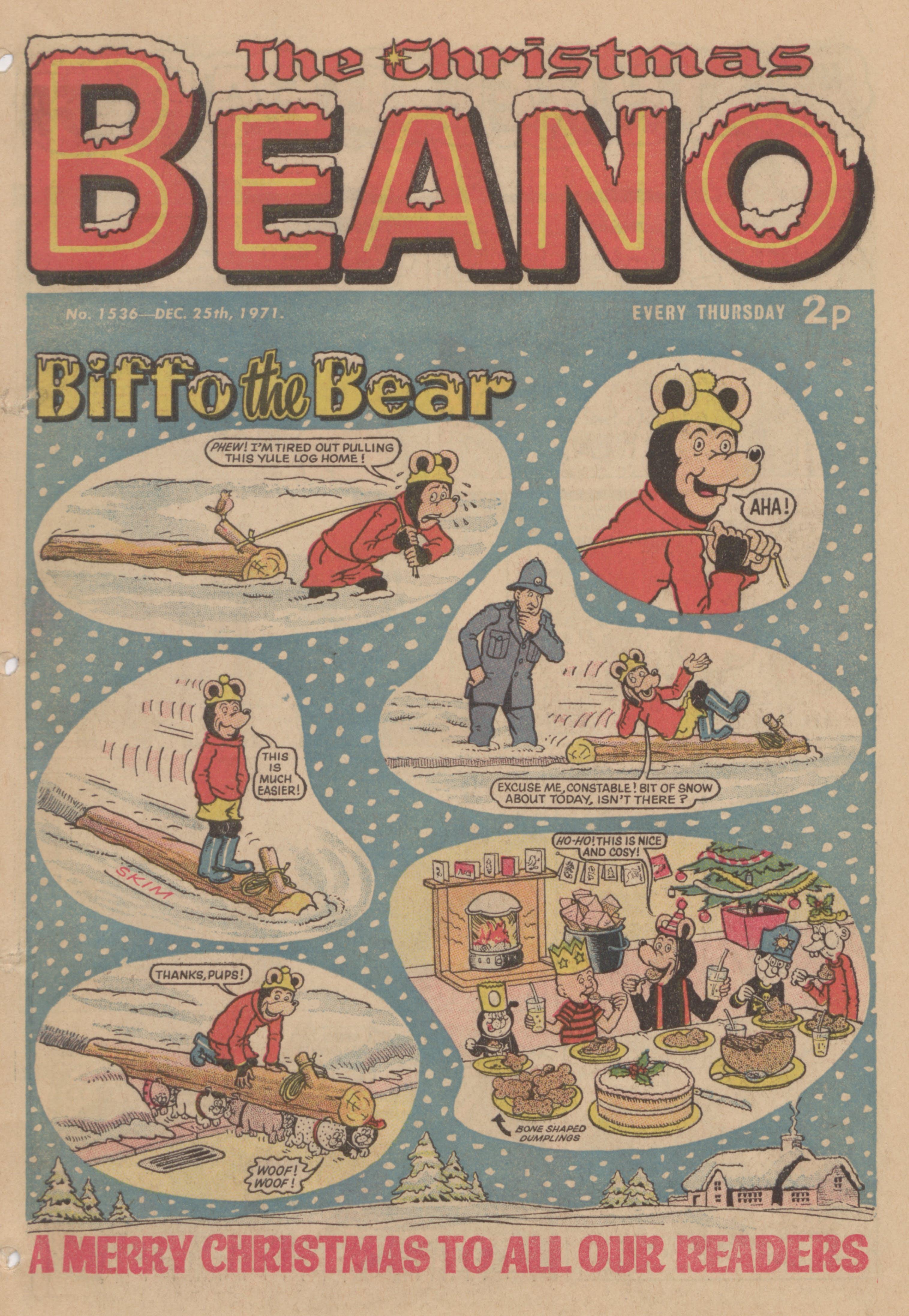 Biffo the Bear Christmas 1971