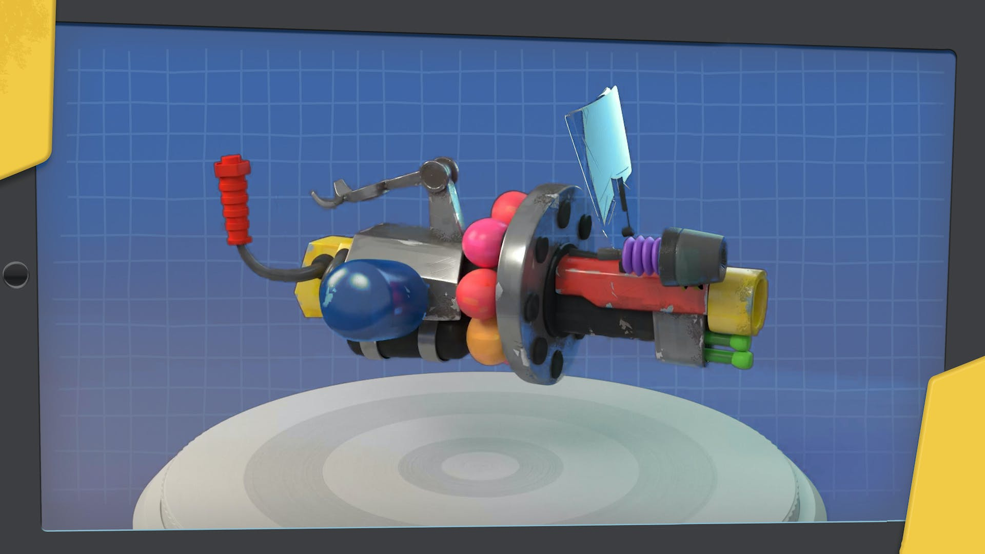 The gang's launcher
