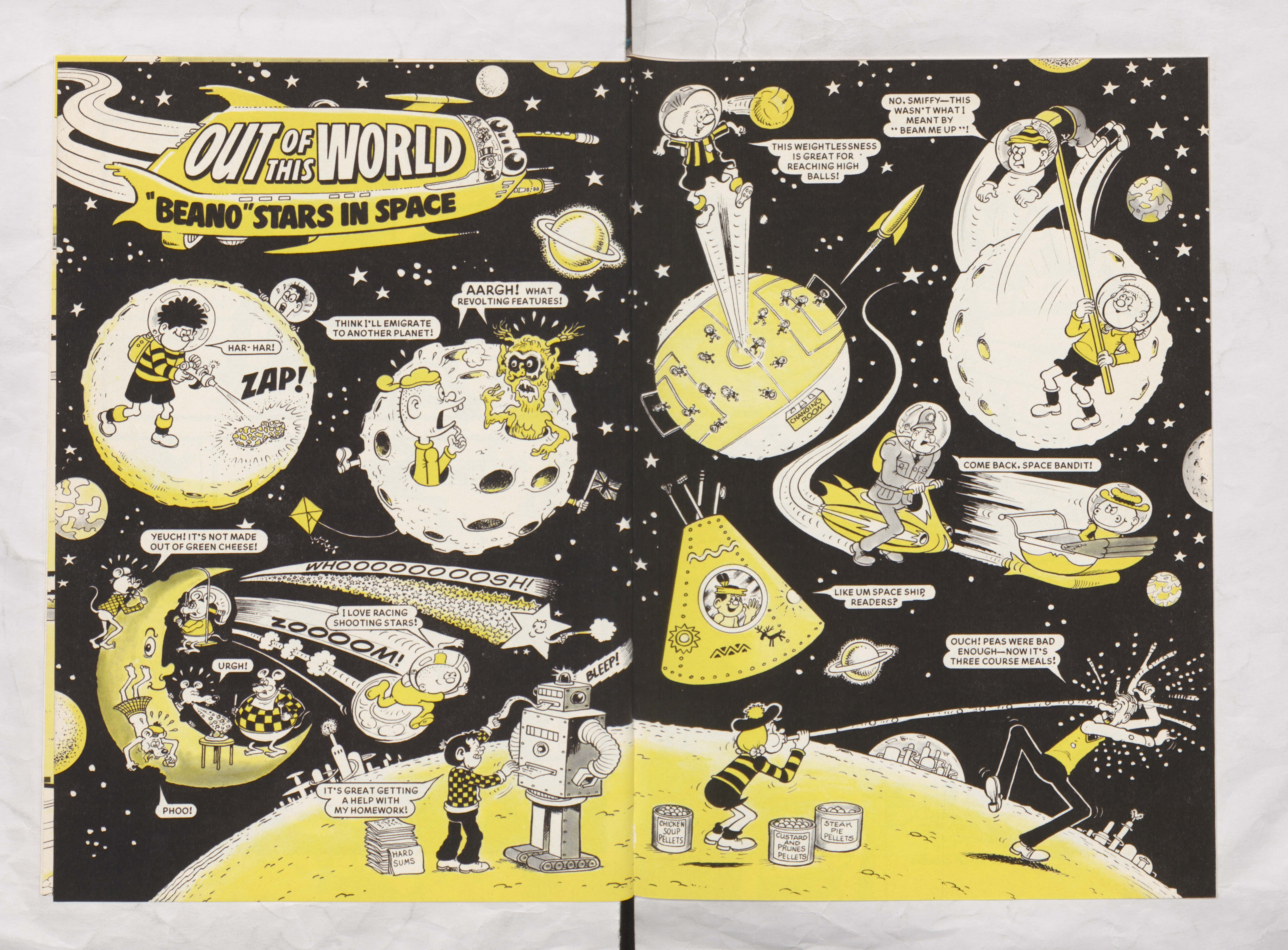 Out of this world - Beano Book 1984 Annual
