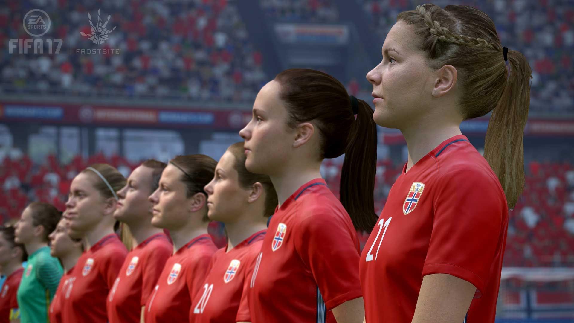 FIFA 17 - Norwegian women's team