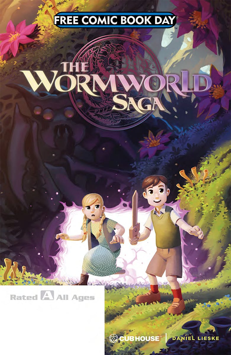 WormWorld Saga comic cover