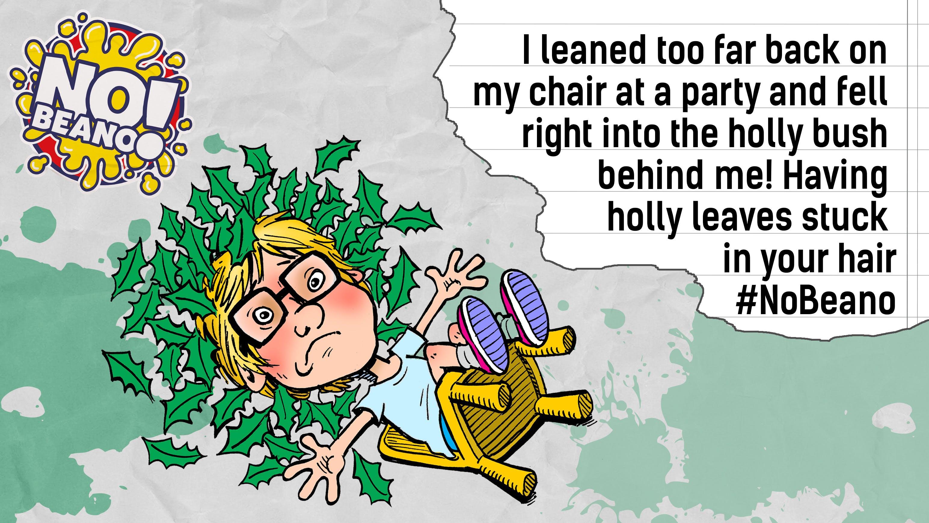 Chair fails!