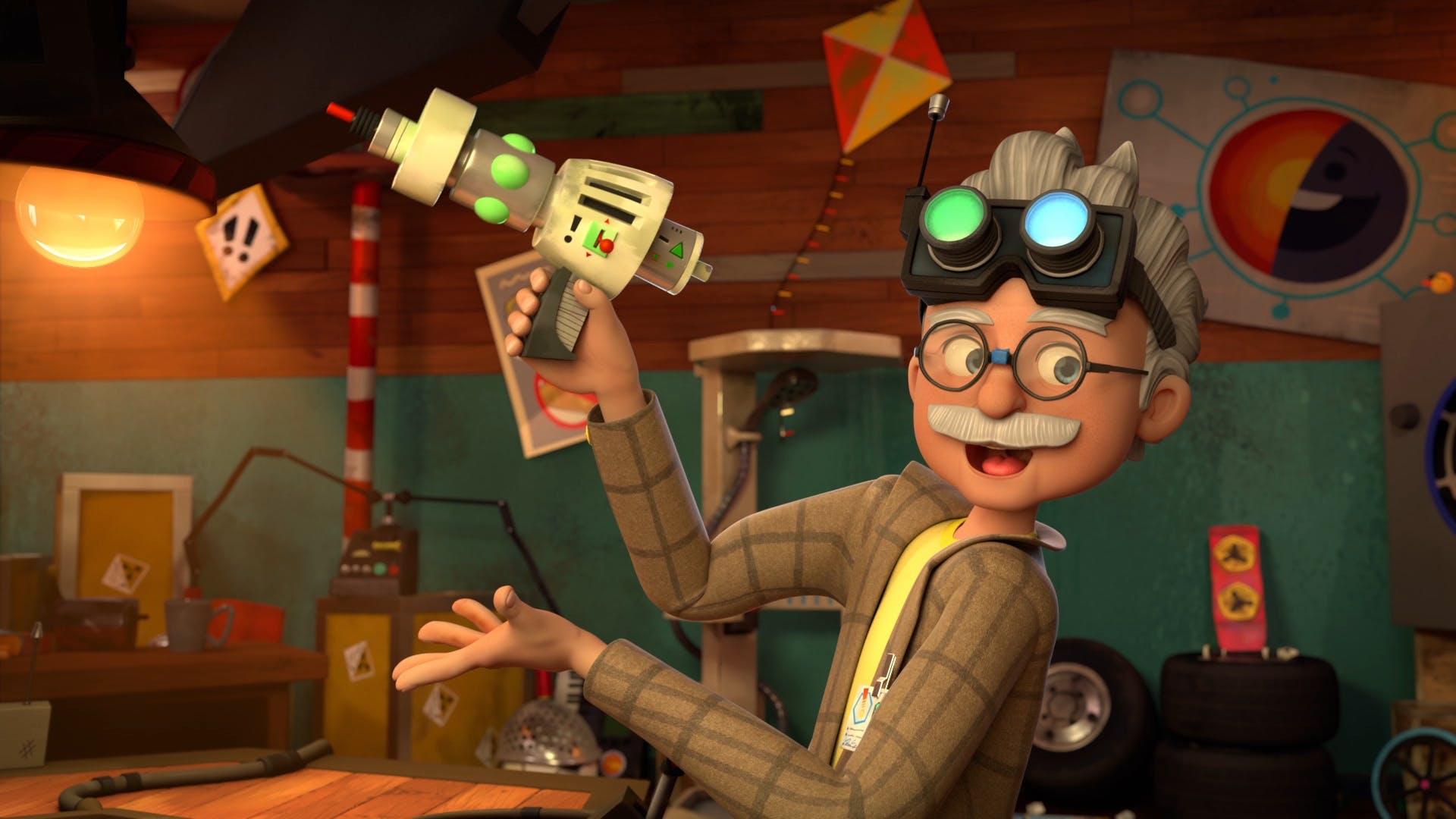 Professor Von Screwtop from Dennis & Gnasher Unleashed!