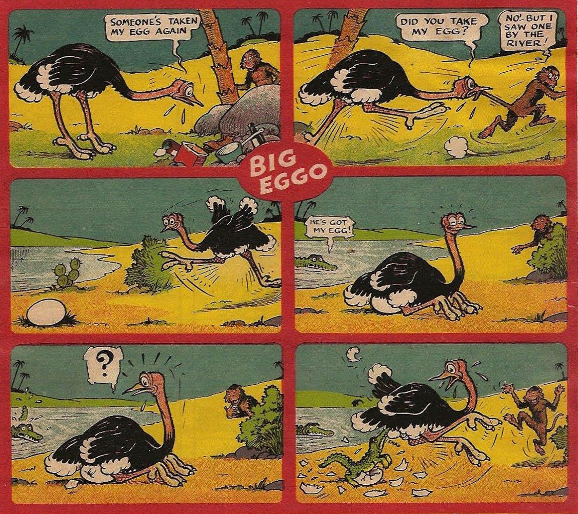 Big Eggo from Beano No. 1