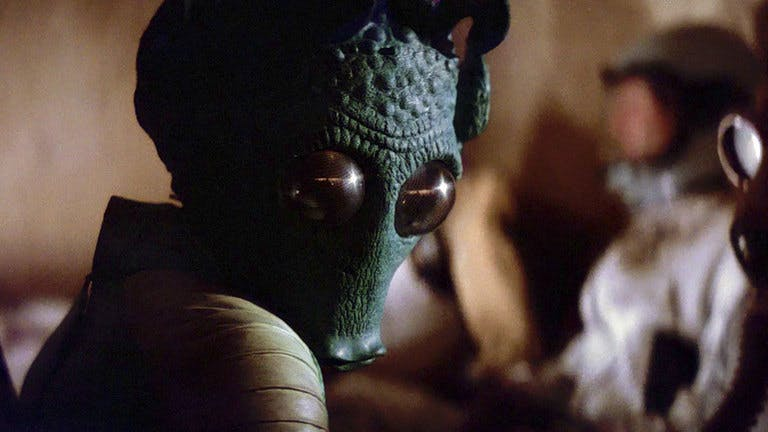 Greedo in Star Wars IV: A New Hope