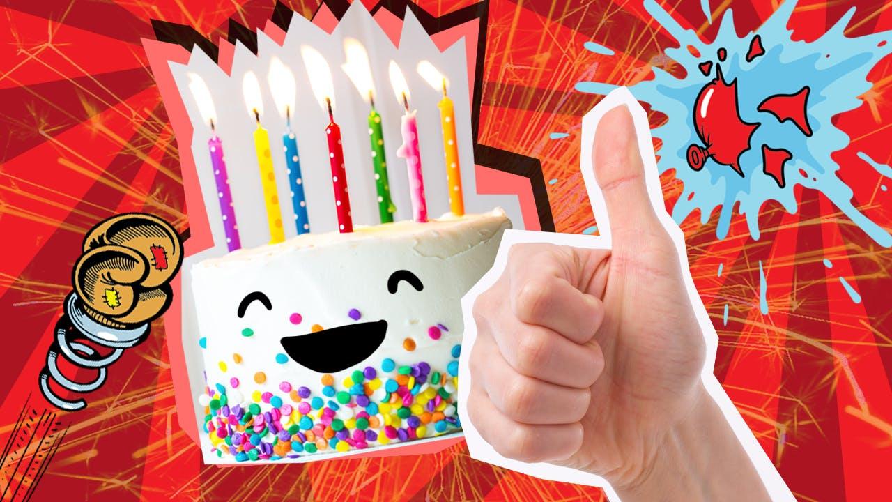 Good thumbs up cake