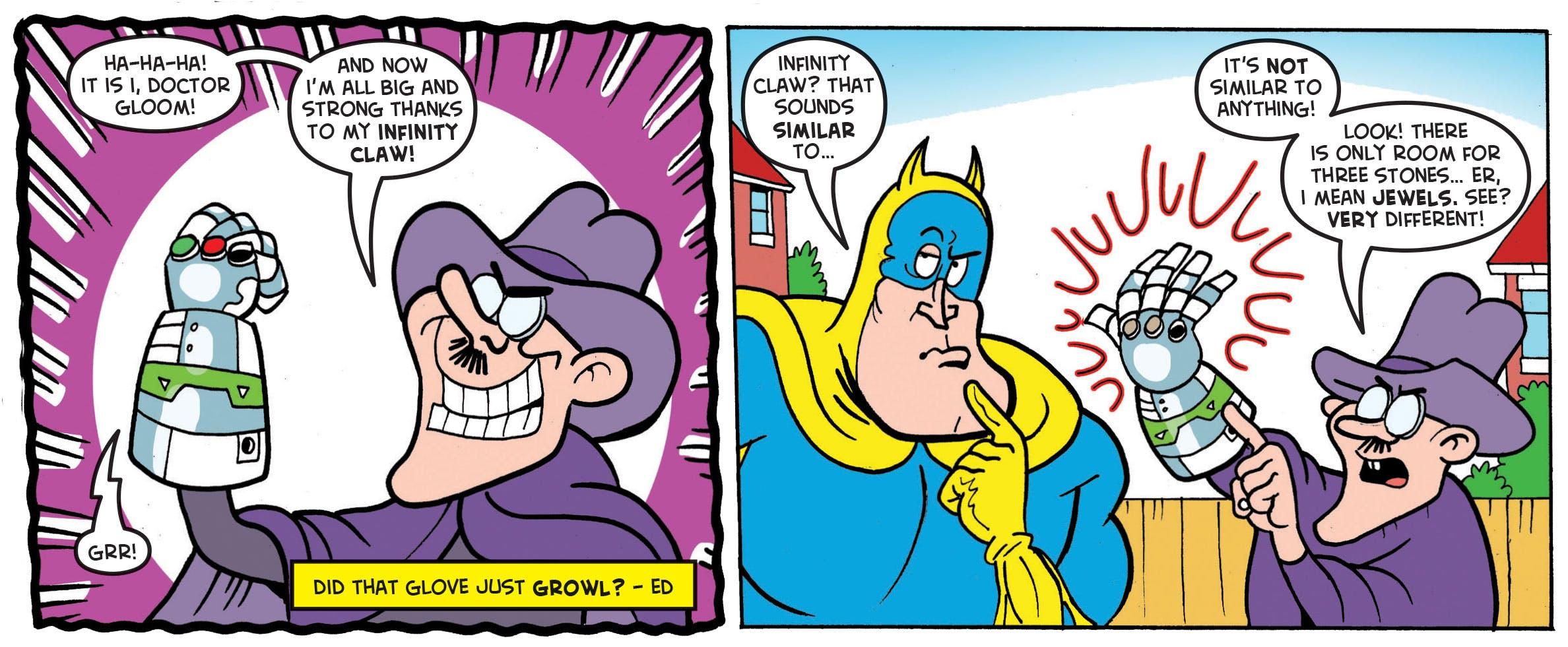 Bananaman infinity claw