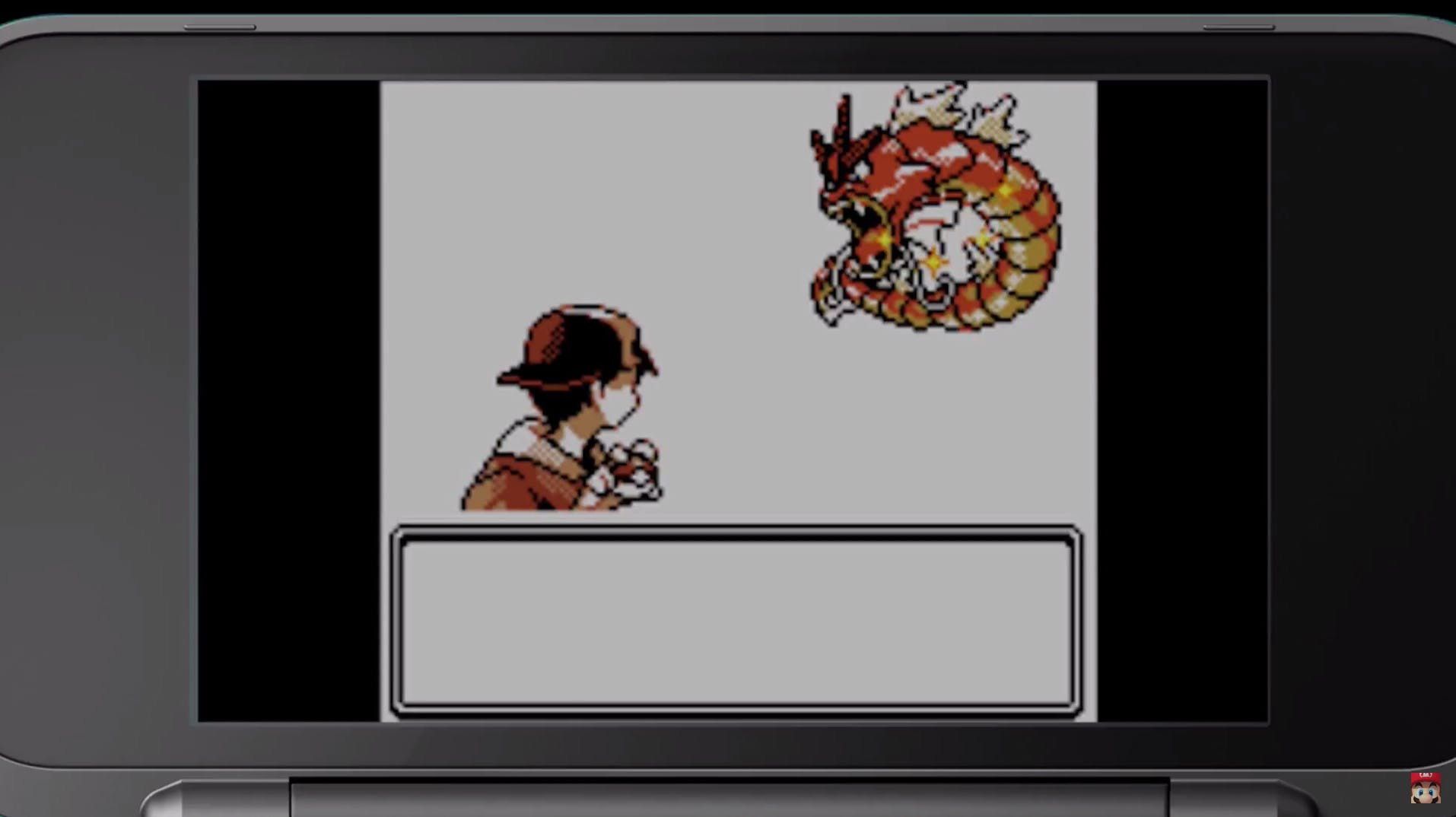Pixel-perfect, this pokemon trainer is catching a rare Gyarados