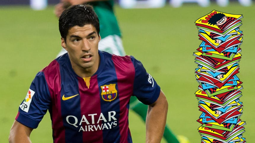 Luis Suarez and lots of Beanos