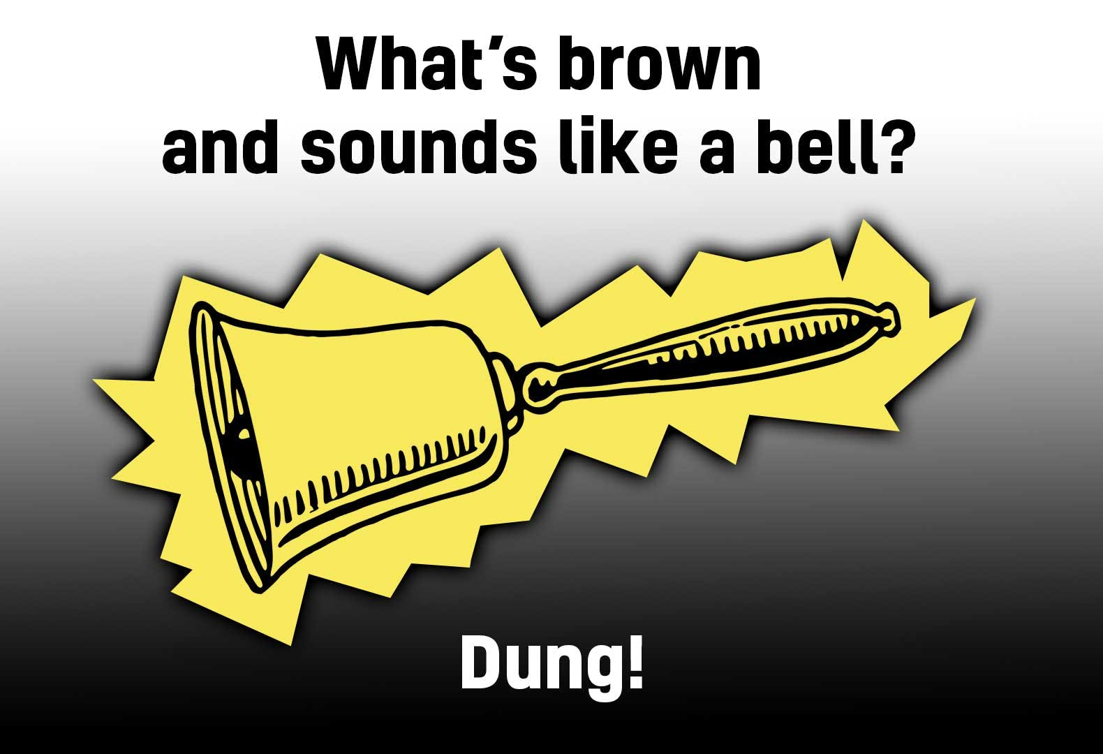 Gross bell joke!