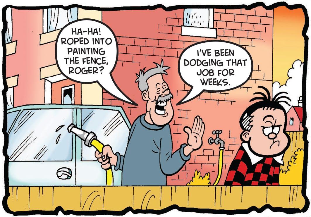 Roger talks to Dad