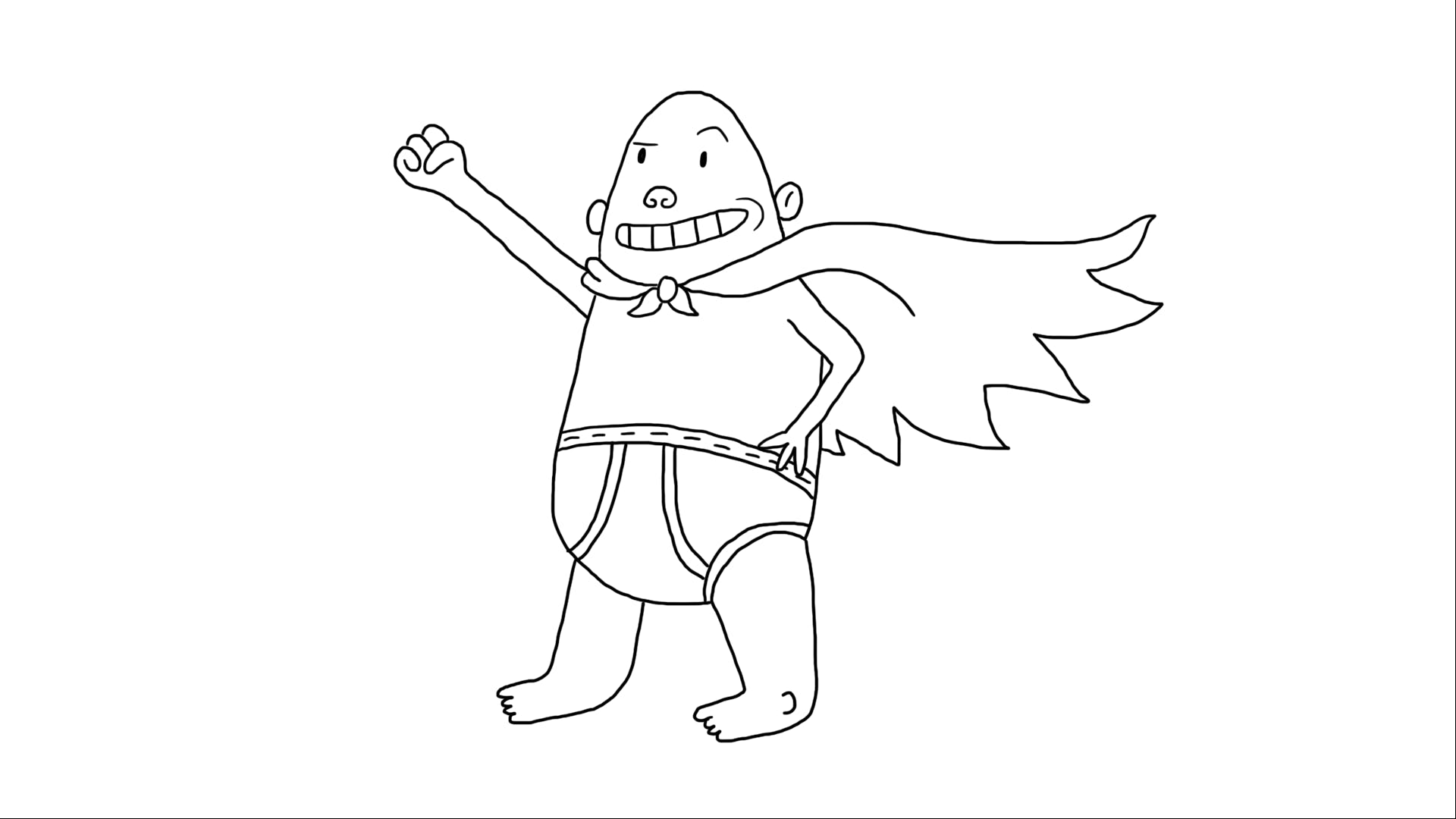 Captain Underpants almost finished