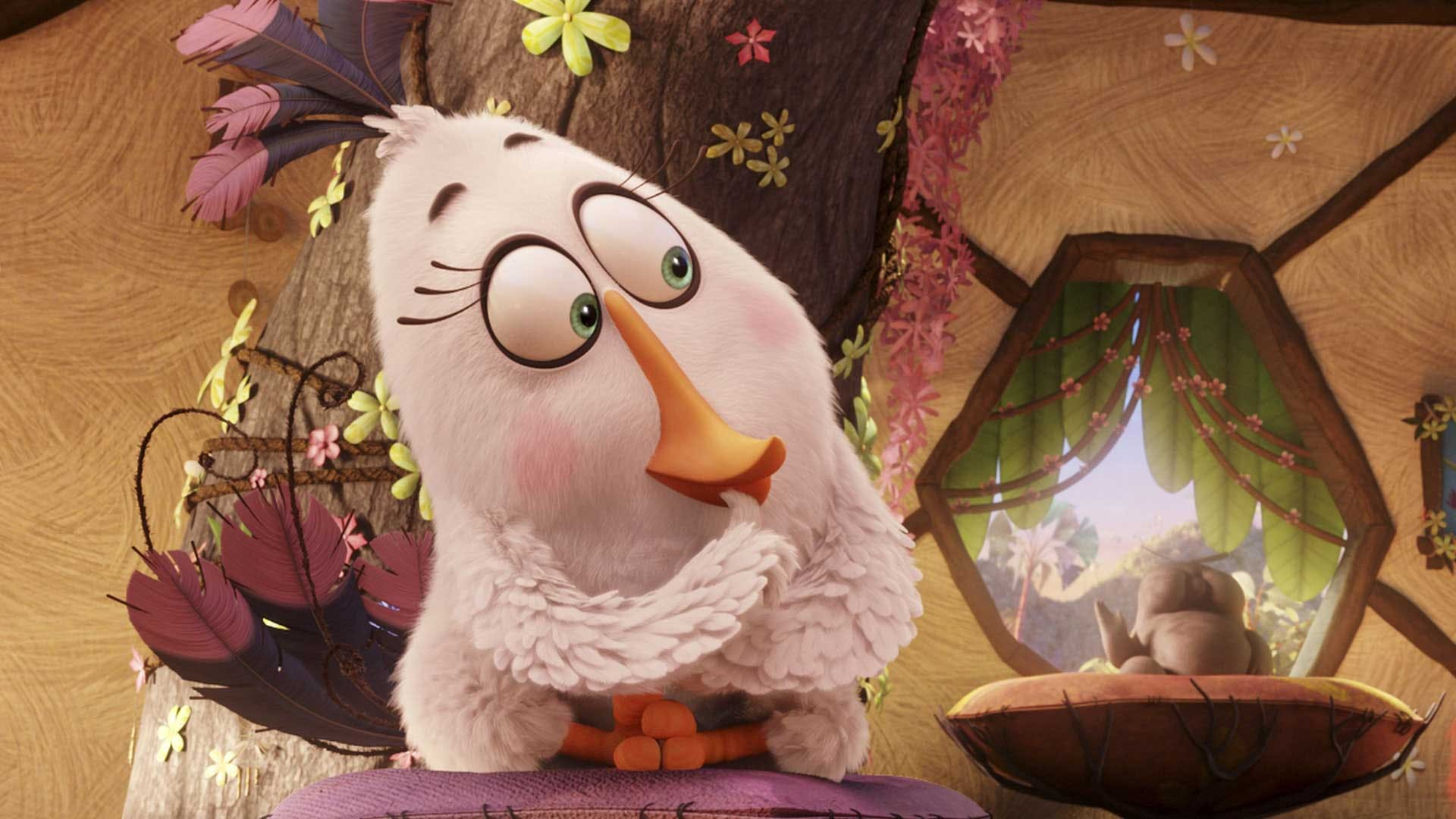Matilda from Angry Birds