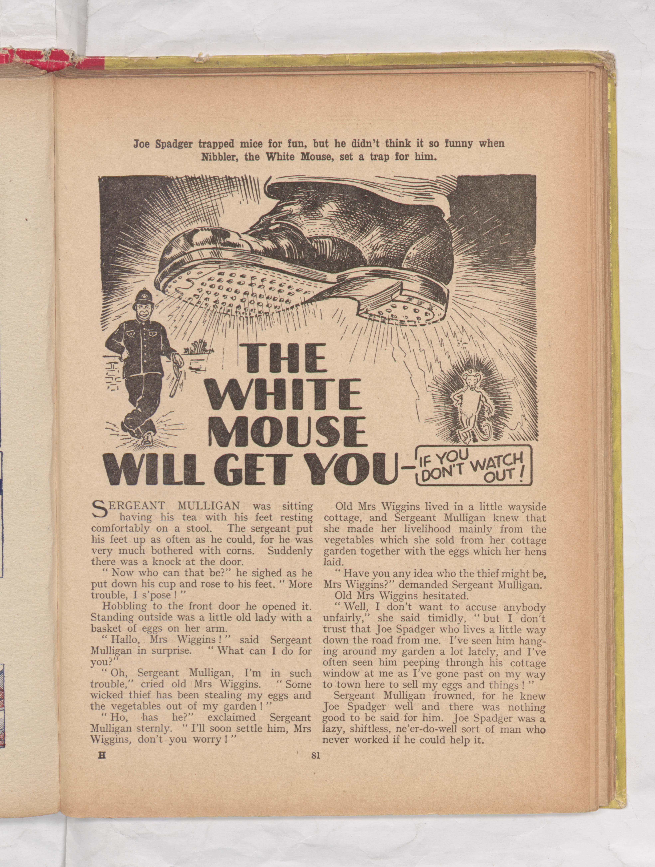 Beano Book 1942 - The White Mouse
