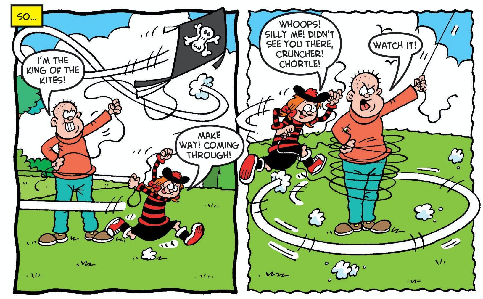 minnie the minx kite
