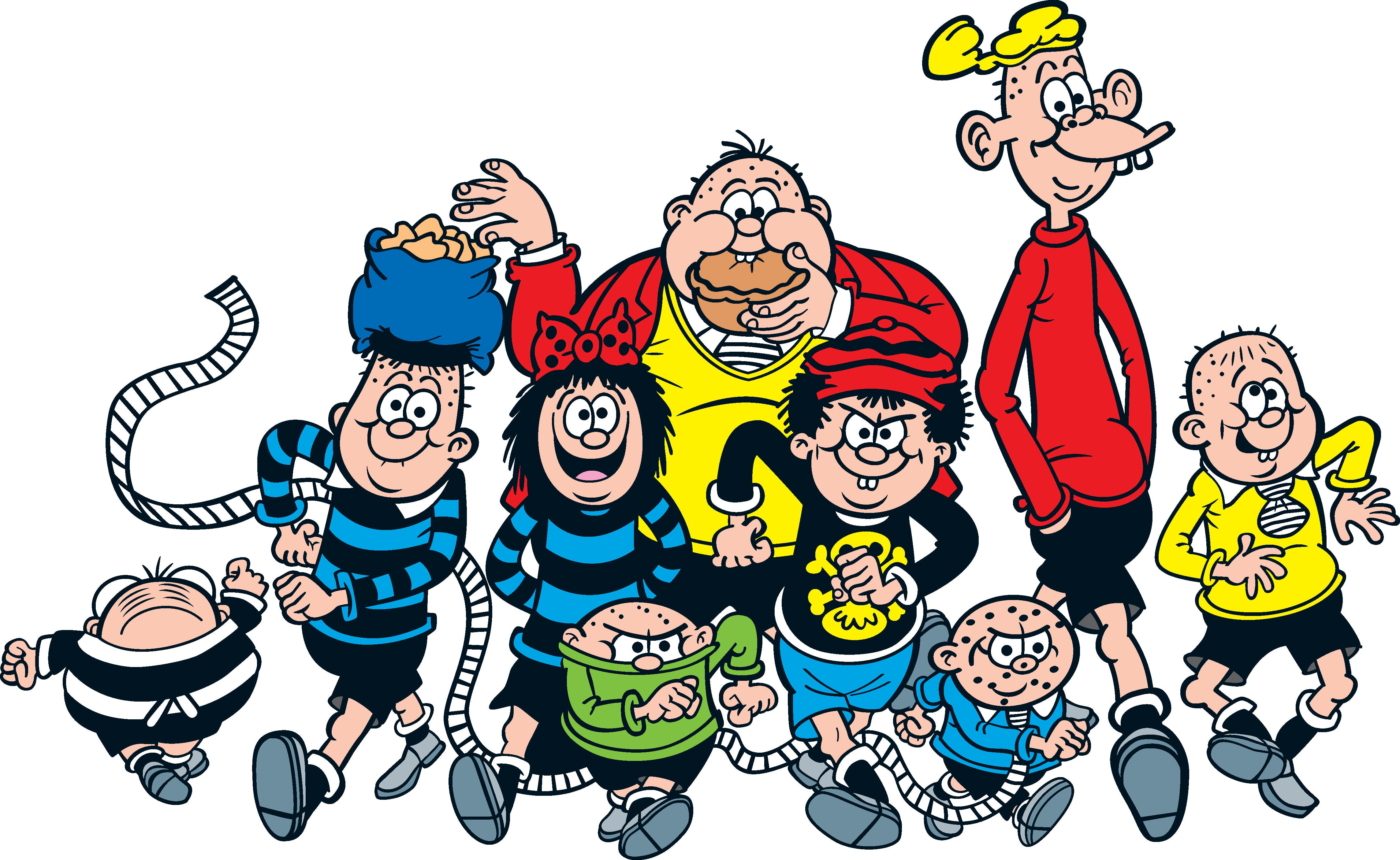 The Bash Street Kids from Beano - drawn by David Sutherland since 1962