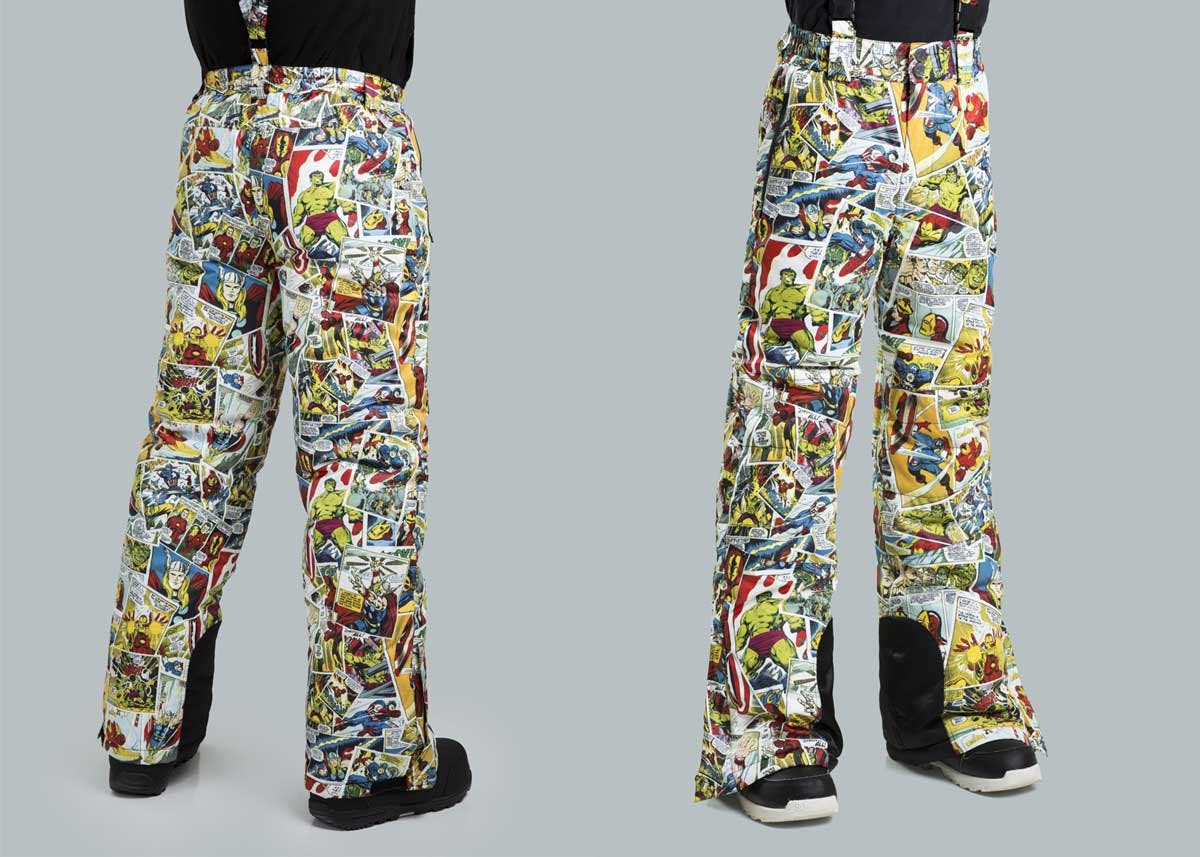 Marvel snowpants from Fun.com