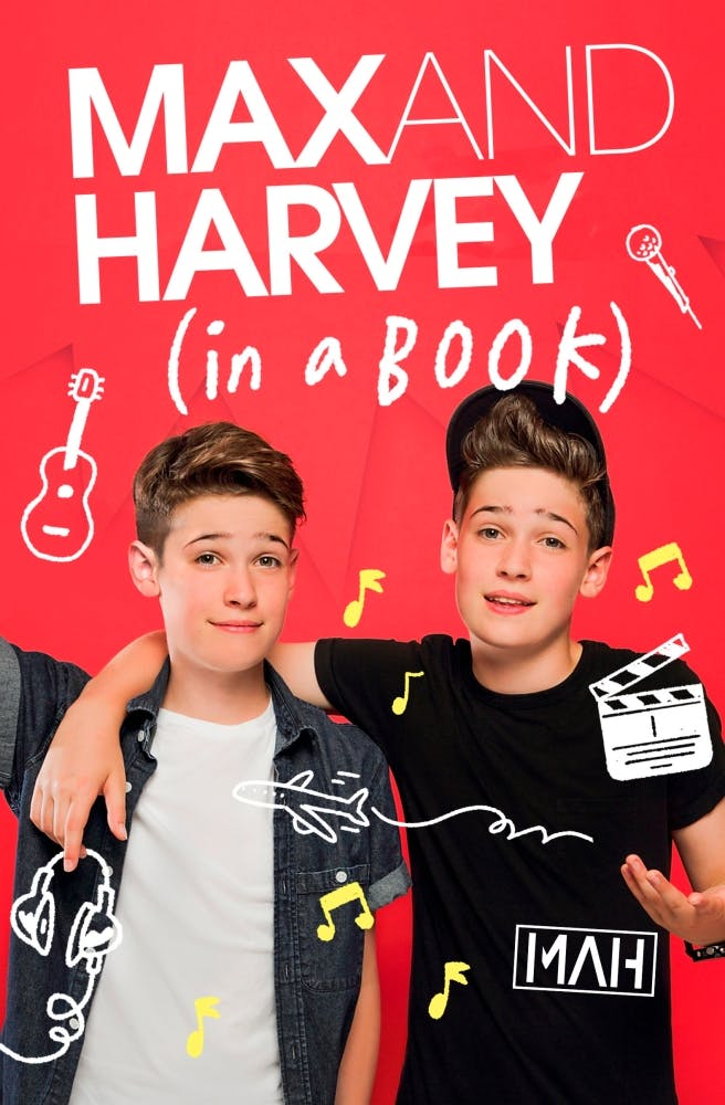 Max and Harvey (in a book) –Max Mills, Harvey Mills