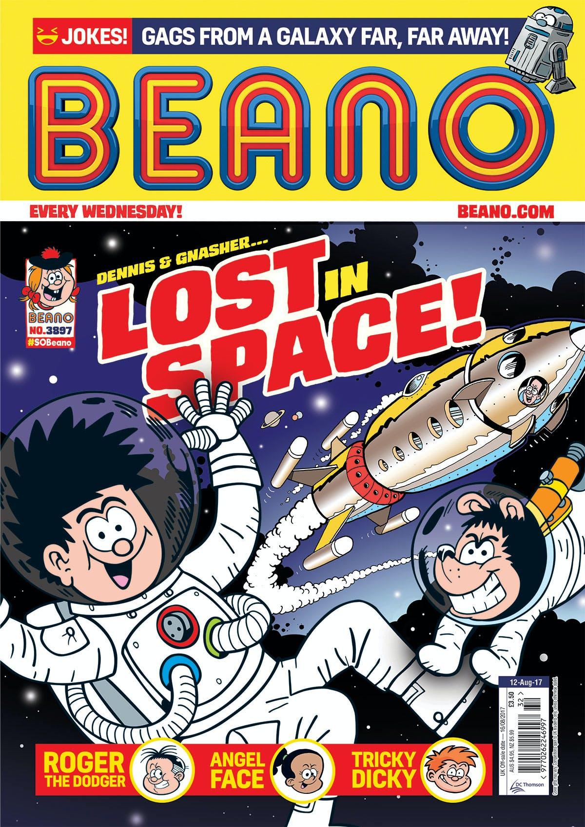 Beano No. 3897 - 12th August 2017