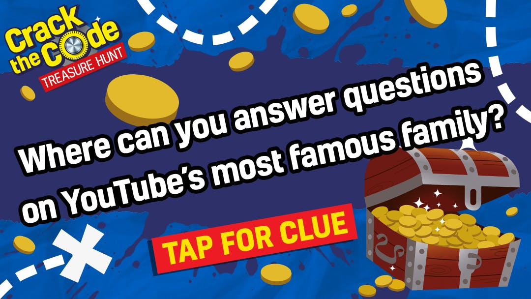Where can you answer questions on YouTube's most famous family?