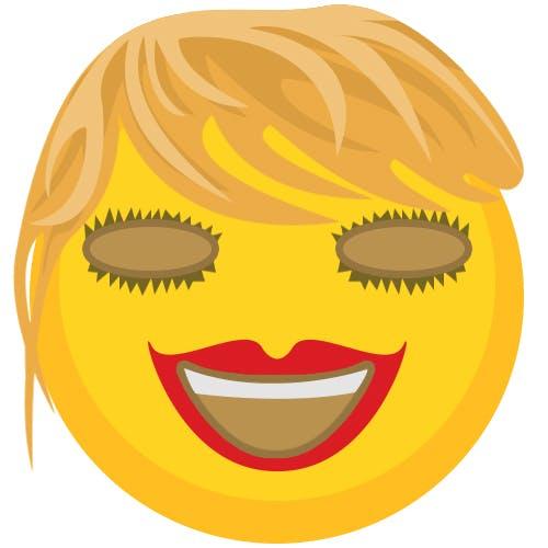 Taylor Swift as an emoji