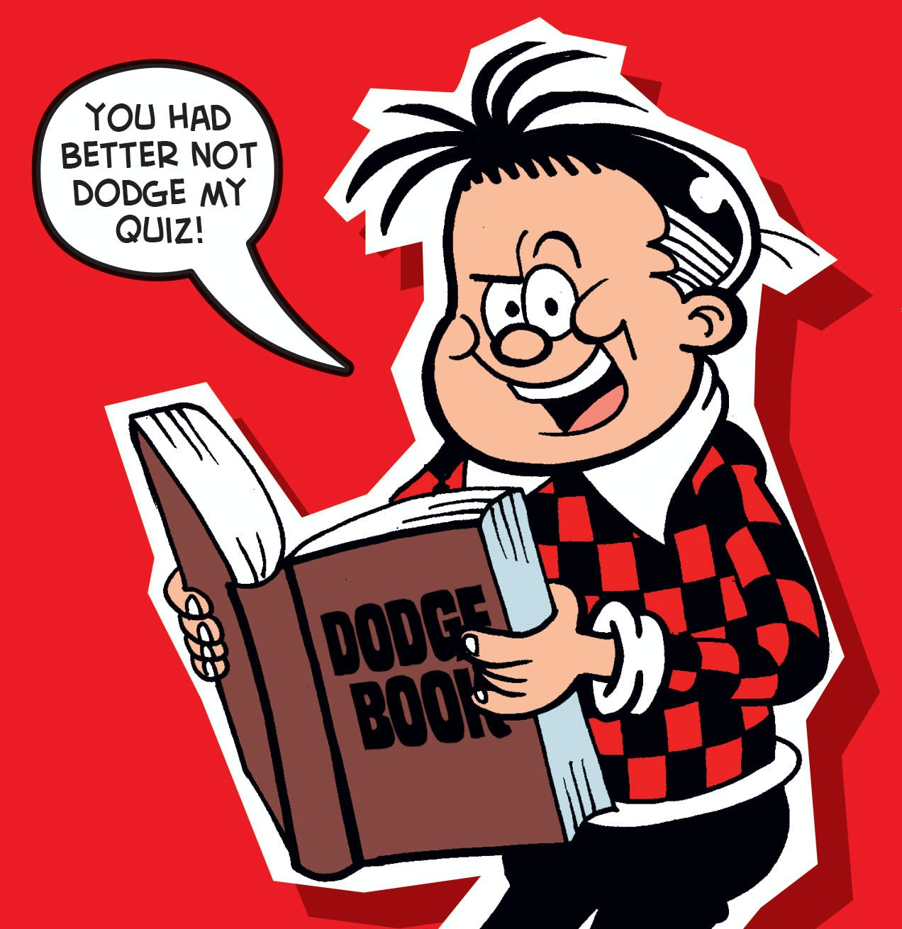 Don't dodge Roger's quiz!