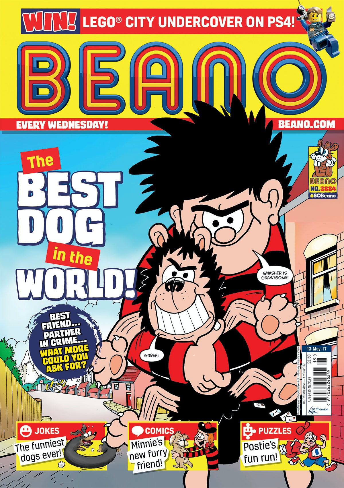 Beano 13th May 2017 cover