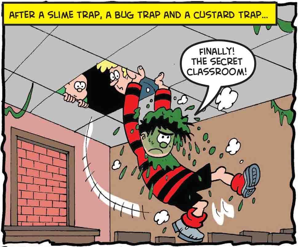 Dennis gets through more traps