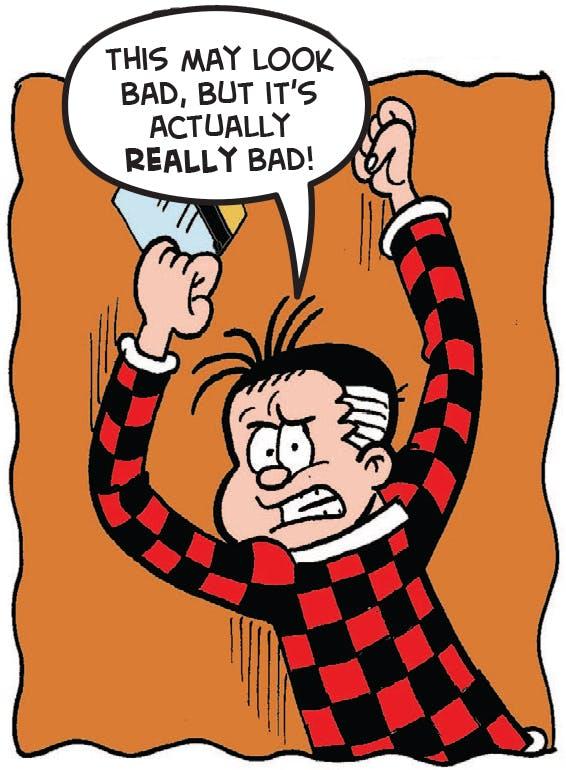 Roger bangs on door