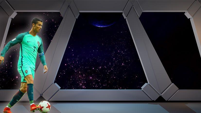 Ronaldo in Space