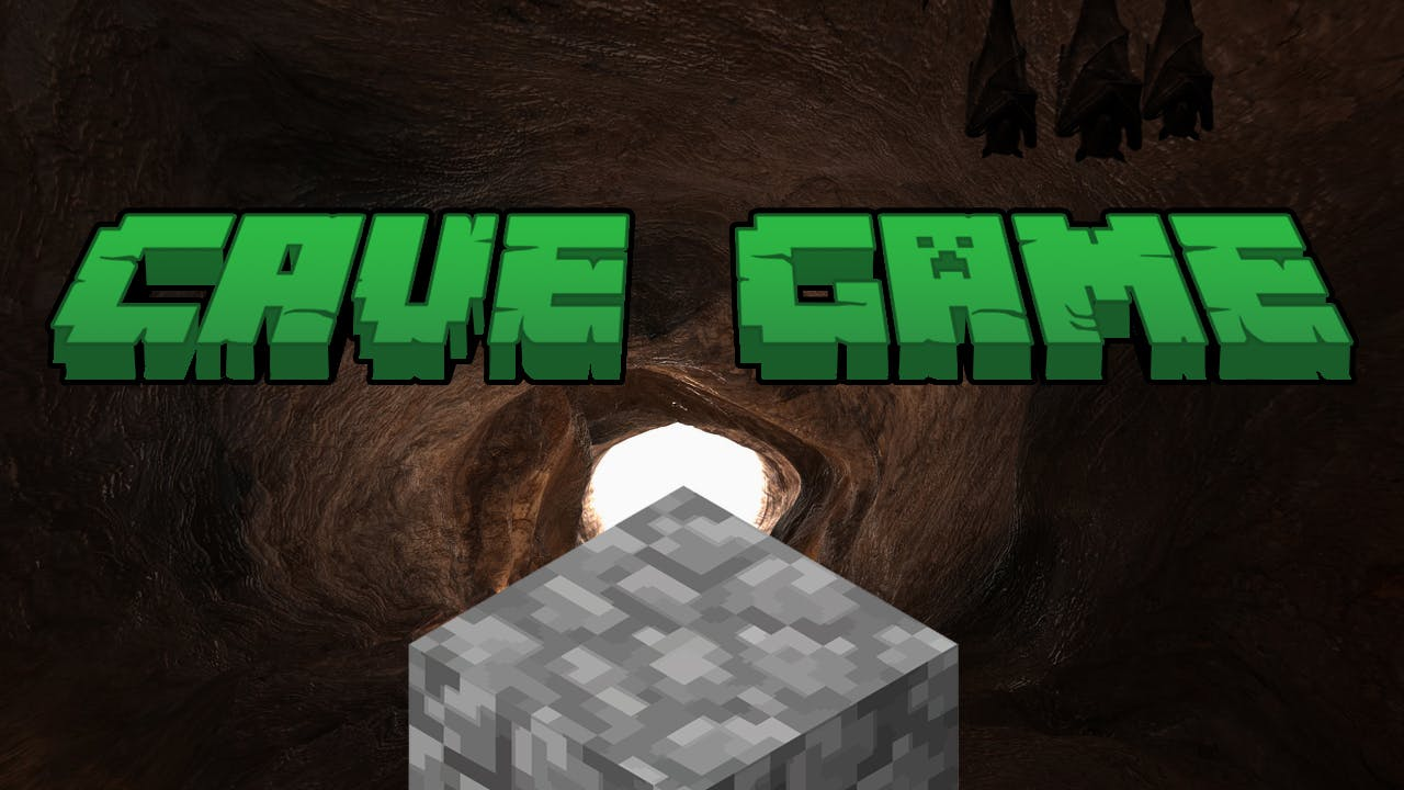CAVE GAME logo