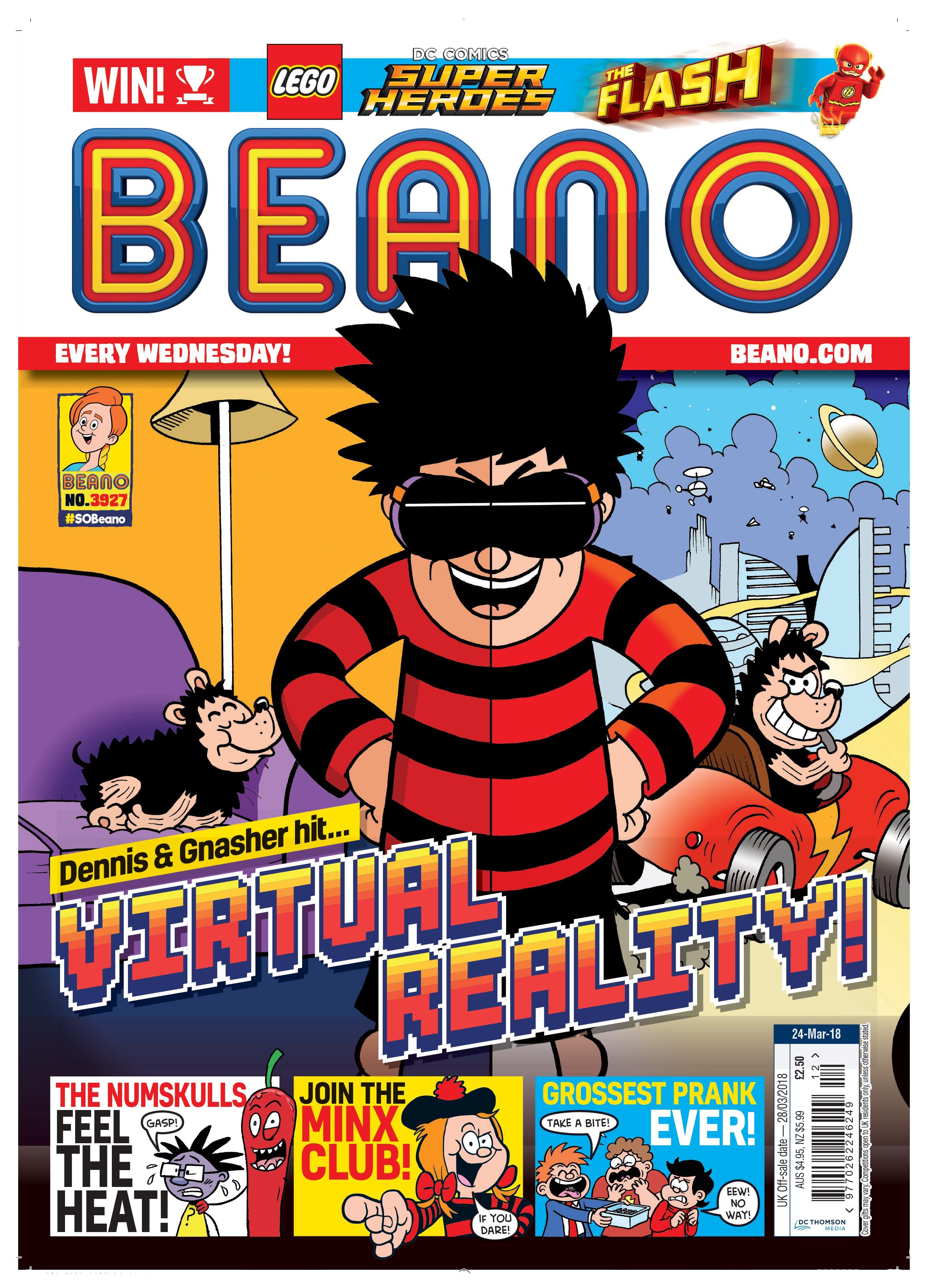 Check out Beano no. 3927