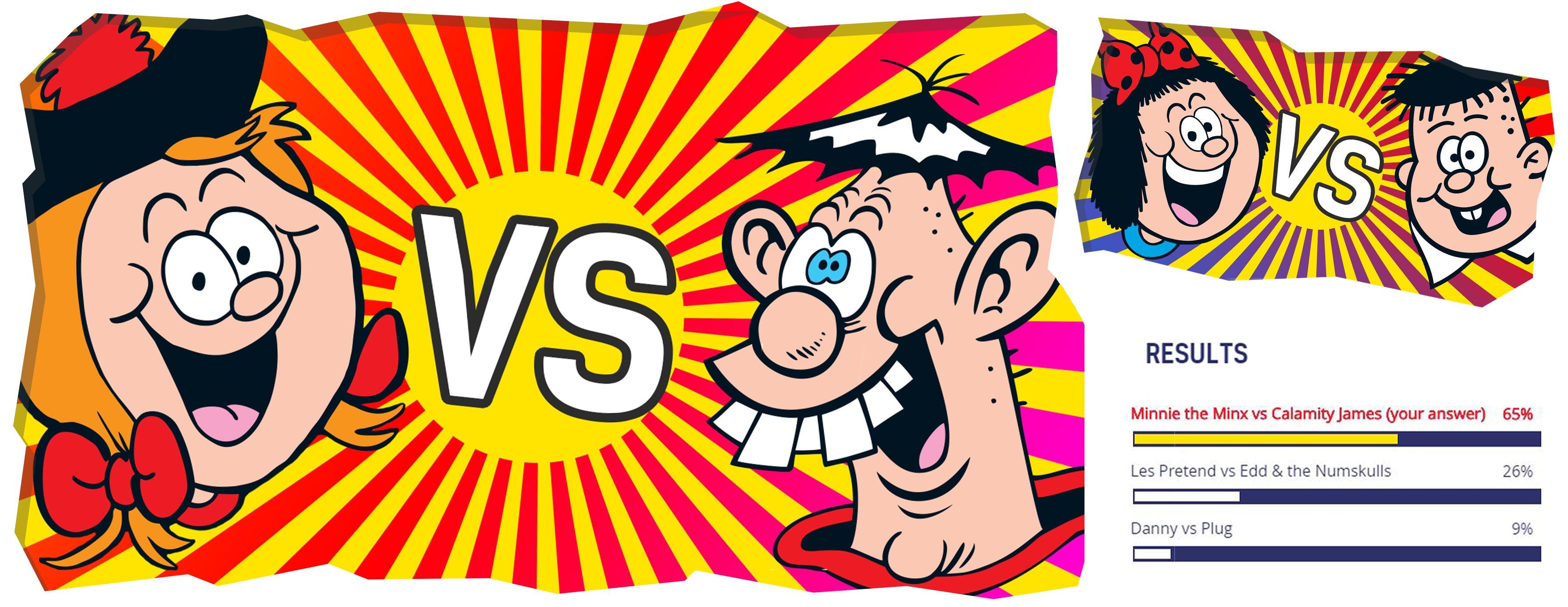 Minnie the Minx versus Calamity James