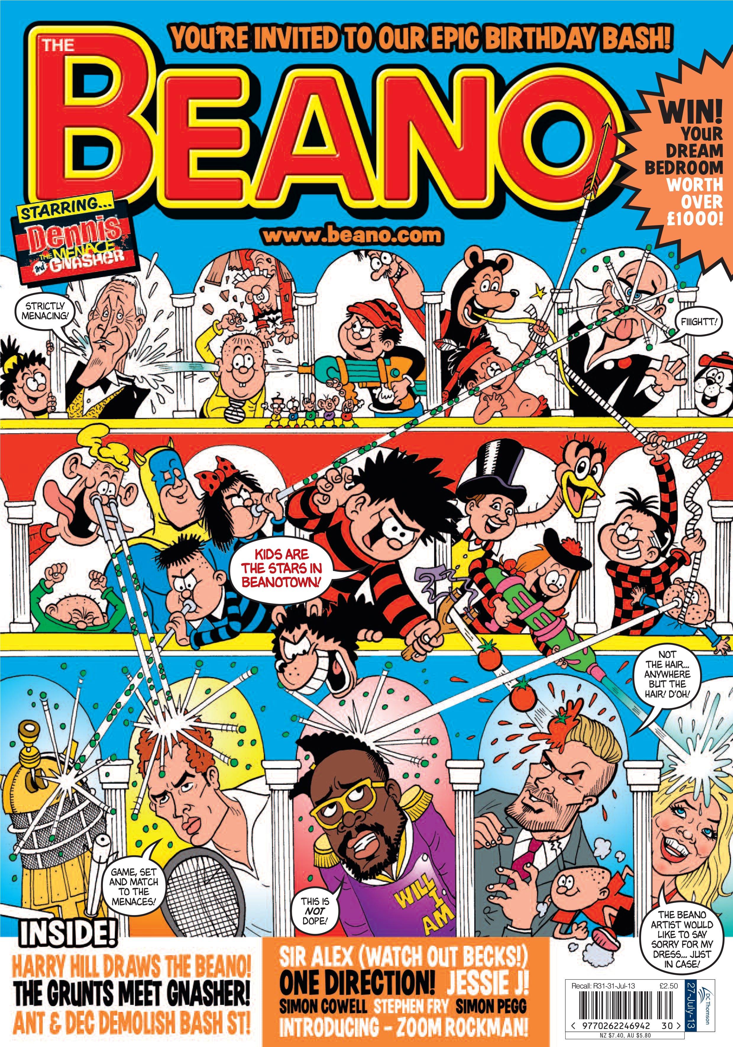 2013 beano cover