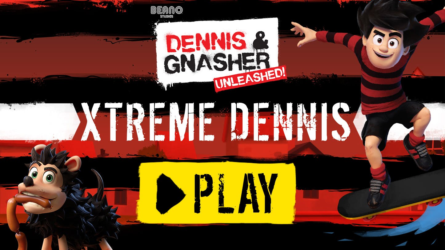 Dennis is practising for the Beanotown extreme games! Can you help him get his best ever run? Play now!