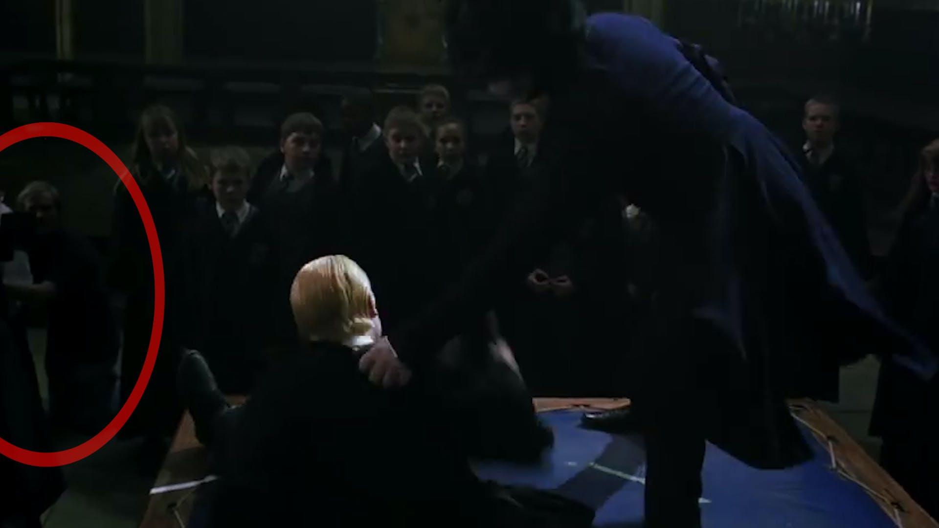 Harry Potter Camera man