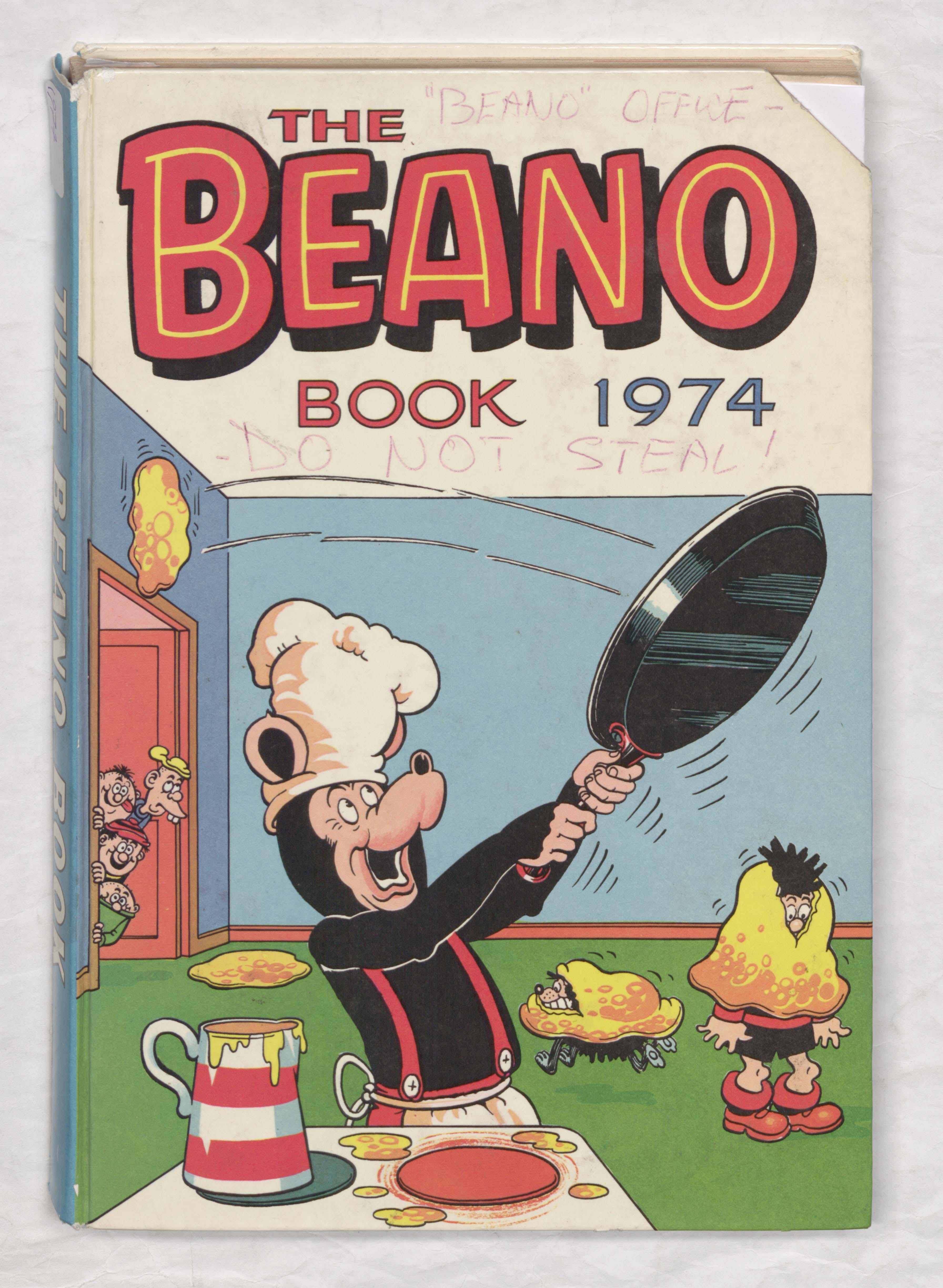 Beano Book 1974 Annual - Biffo in the Kitchen