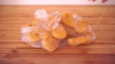 Chicken nugget slime