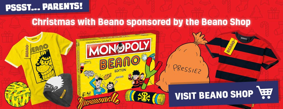 Christmas with Beano sponsored by the Beano Shop