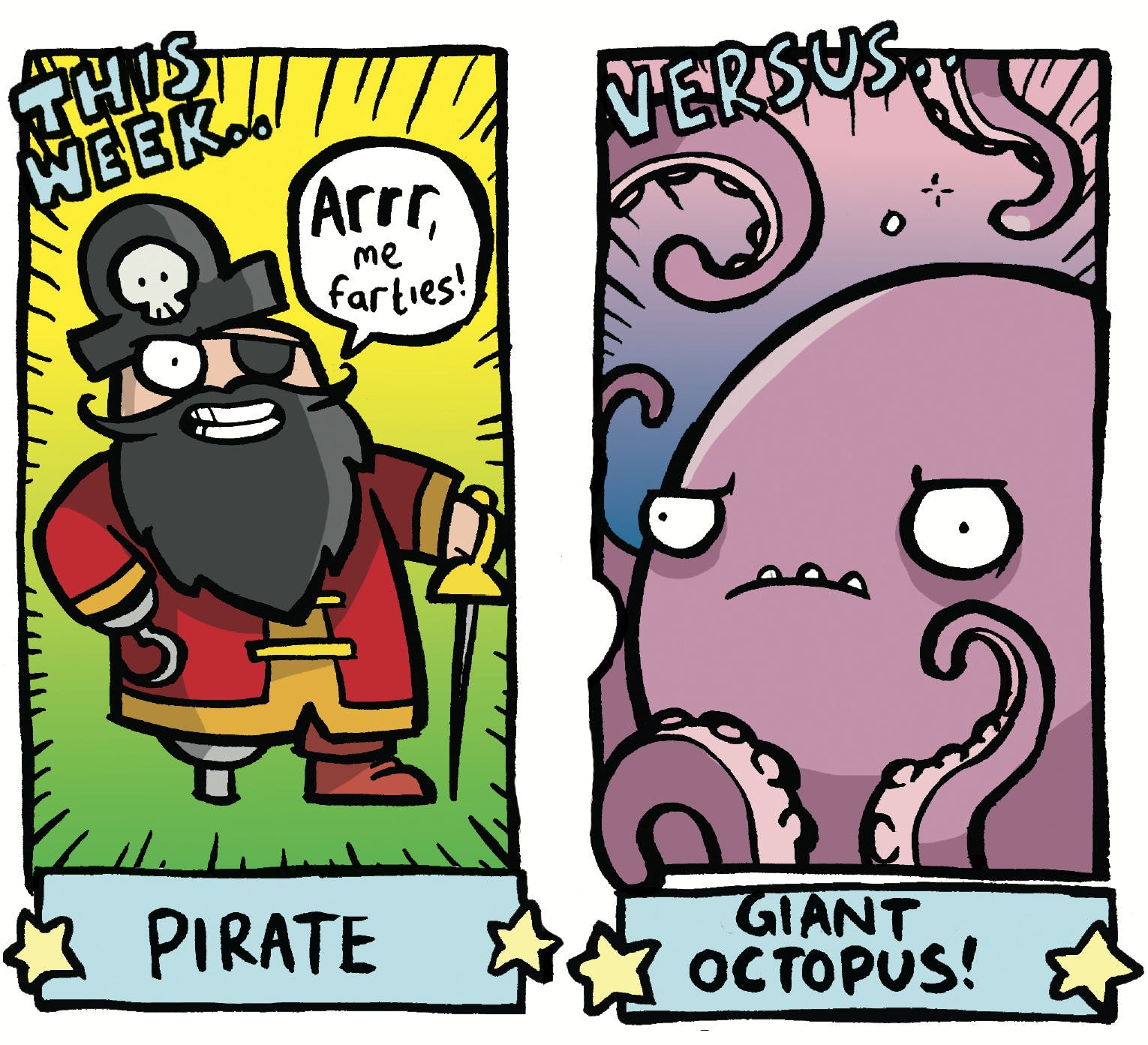 Arena of Awesome - Pirate Versus Giant Octopus