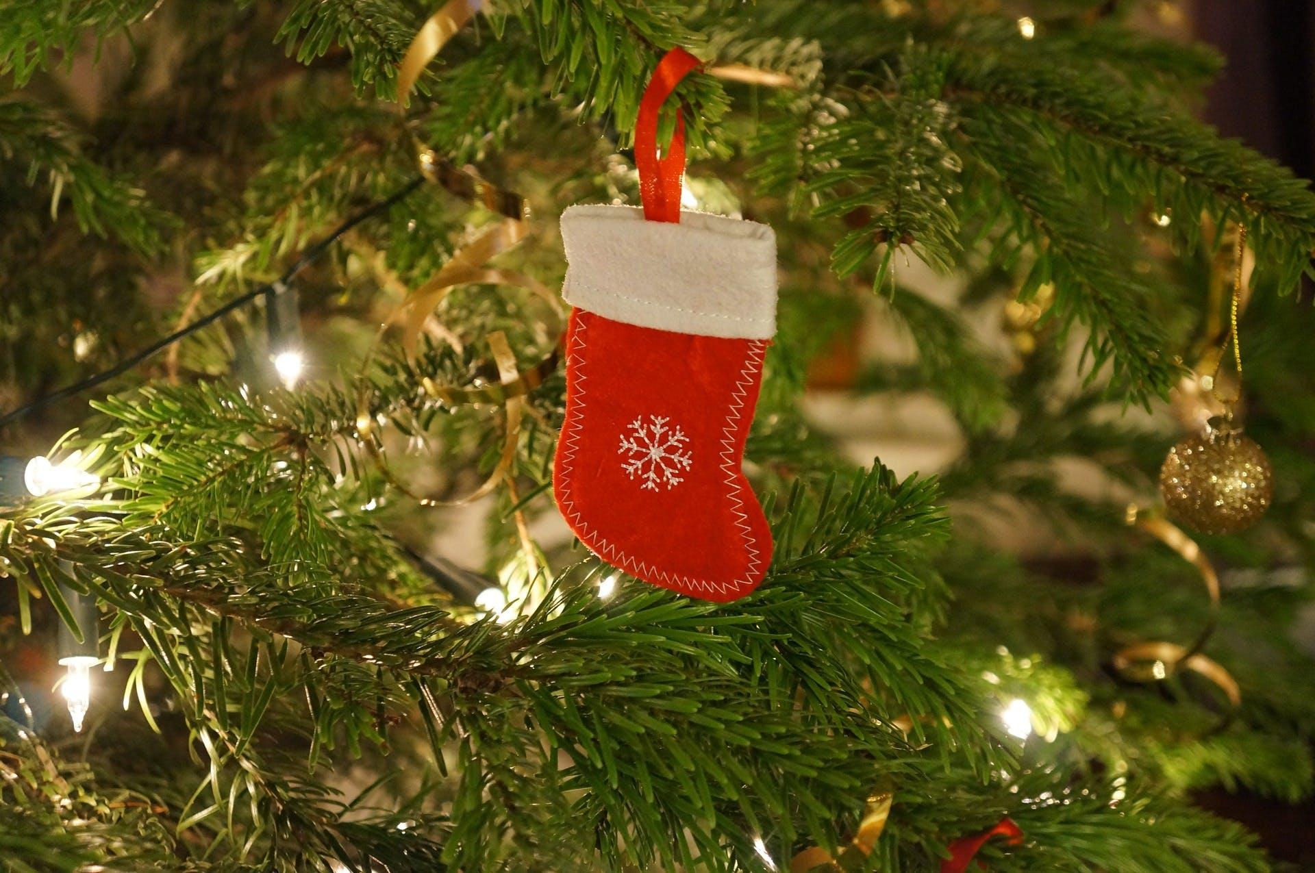 A Christmas stocking