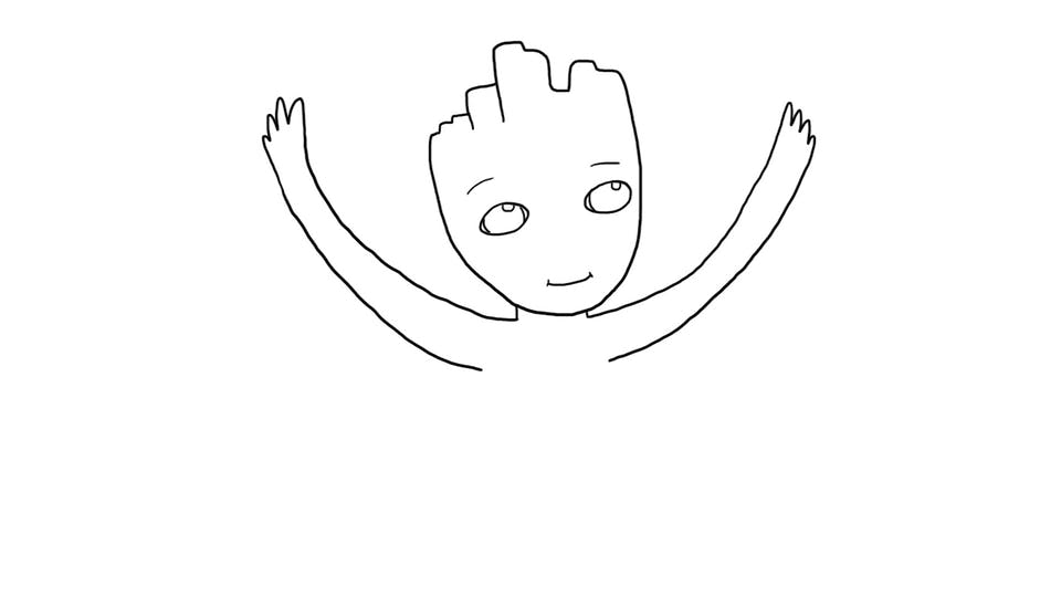 How to draw baby groot how to draw film tv on beano how to draw baby groot from guardians of the galaxy altavistaventures Images