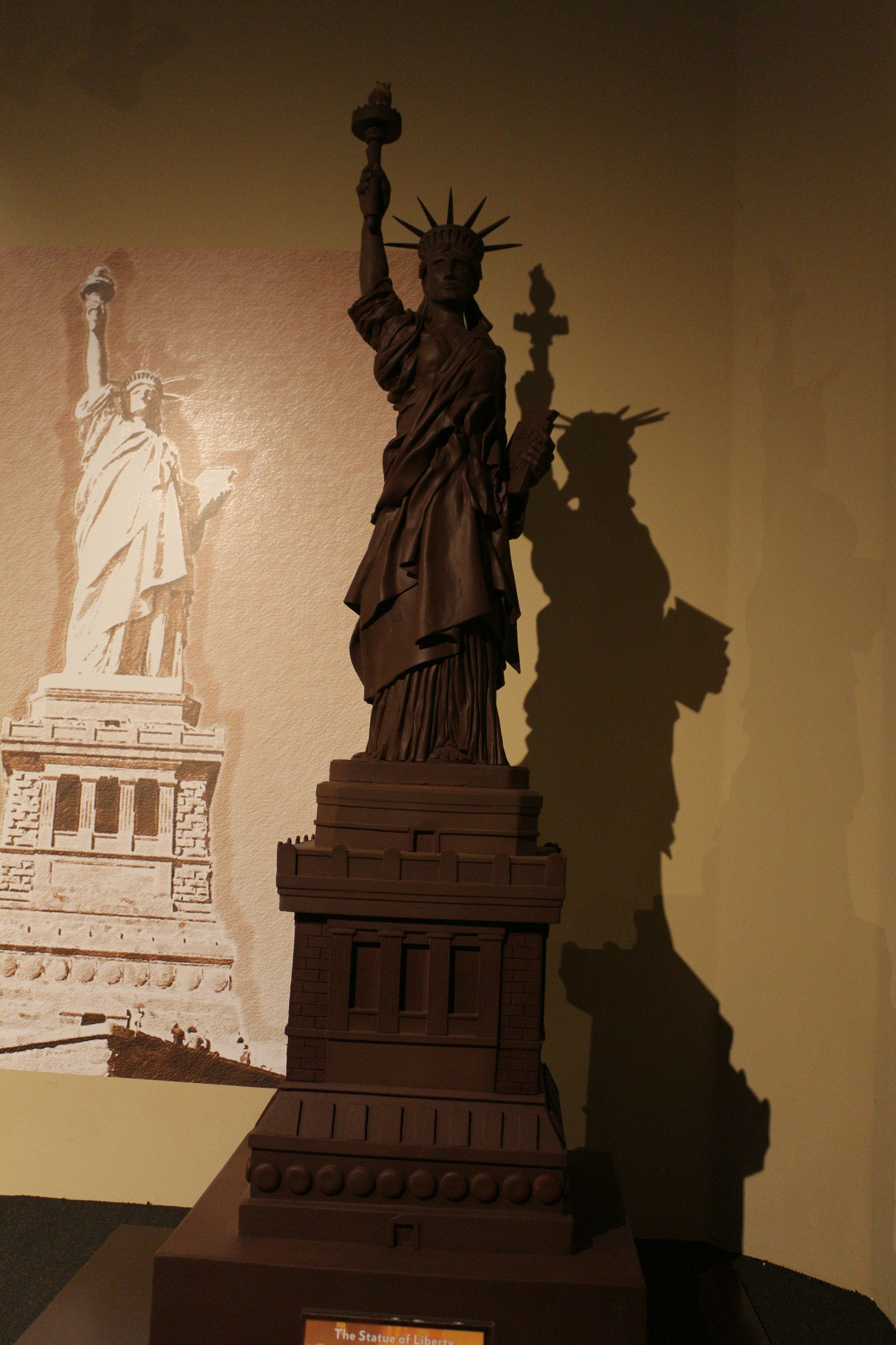Chocolate Statue of Liberty