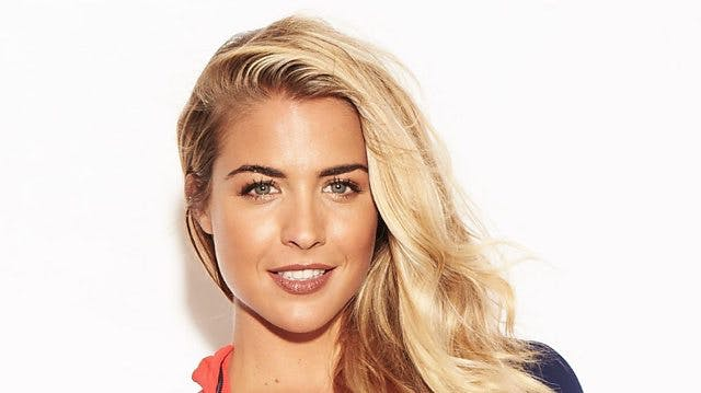 Gemma Atkinson, off the telly!