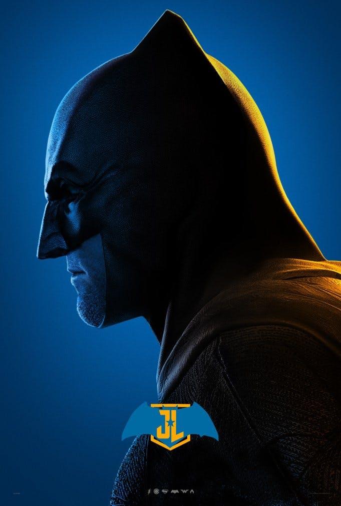 Batman poster for Justice League